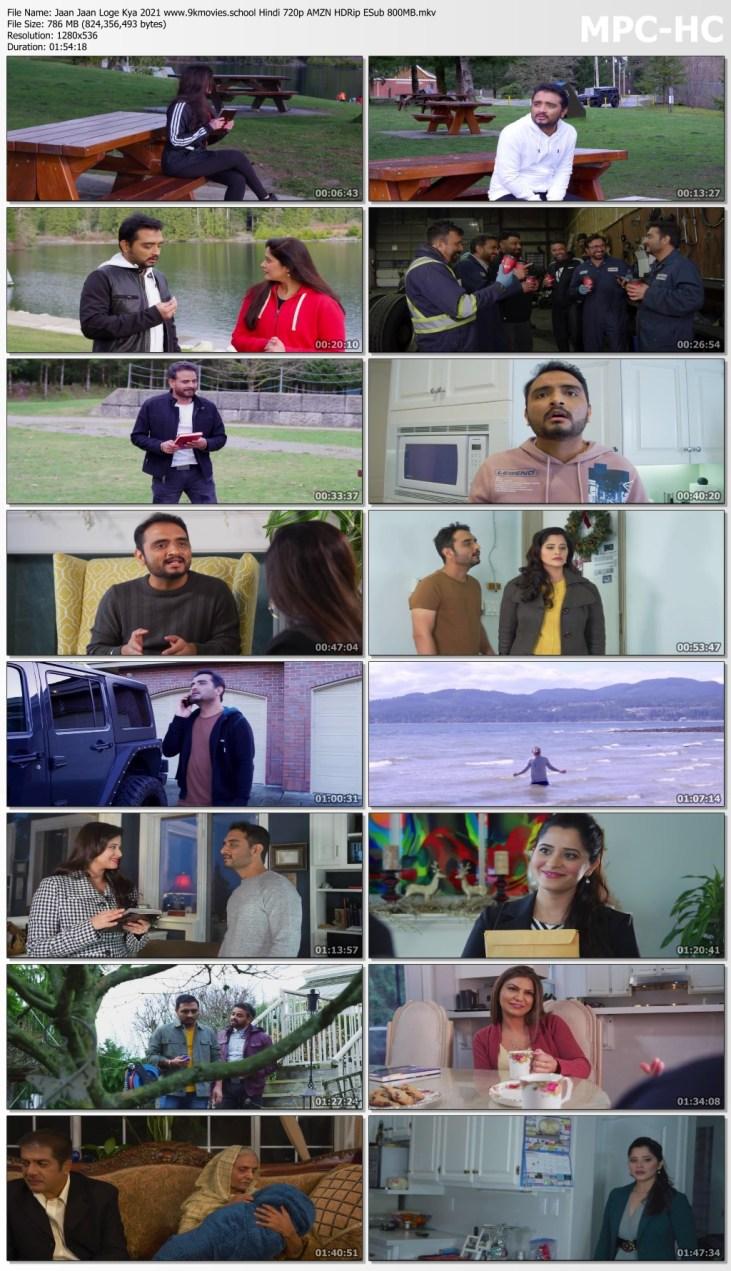 Download Jaan Jaan Loge Kya 2021 Hindi Movie 720p AMZN HDRip ESub 800MB
