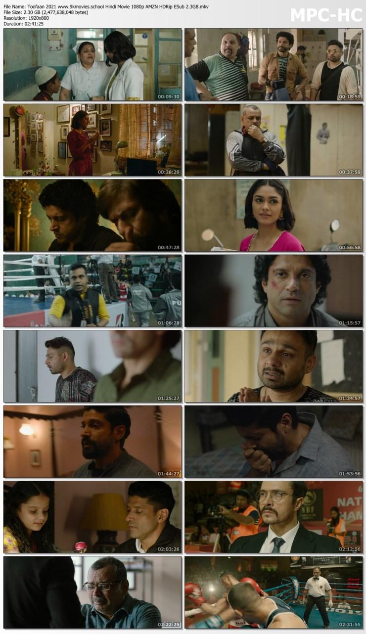 Download Toofaan 2021 Hindi Movie 1080p AMZN HDRip ESub 2.3GB