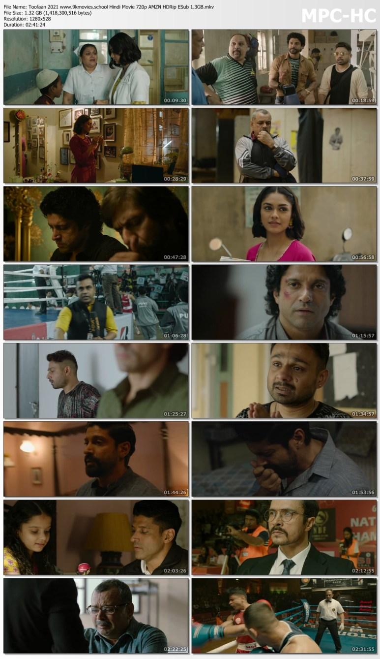 Download Toofaan 2021 Hindi Movie 720p AMZN HDRip ESub 1.3GB