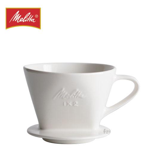 Melitta 陶瓷濾杯2~4杯(附咖啡匙):福璟咖啡