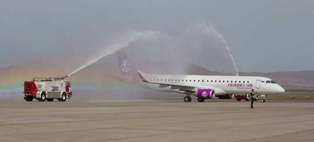 匈奴航空接收首架E190 並完成商業首航:Airway e-shop