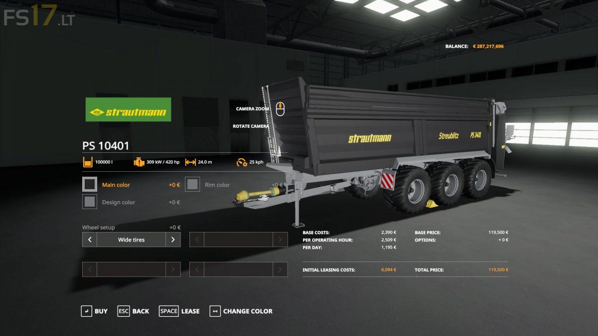 Manure Spreader Amp Slurry Tanks Pack V 1 0 0 1 Fs19 Mods