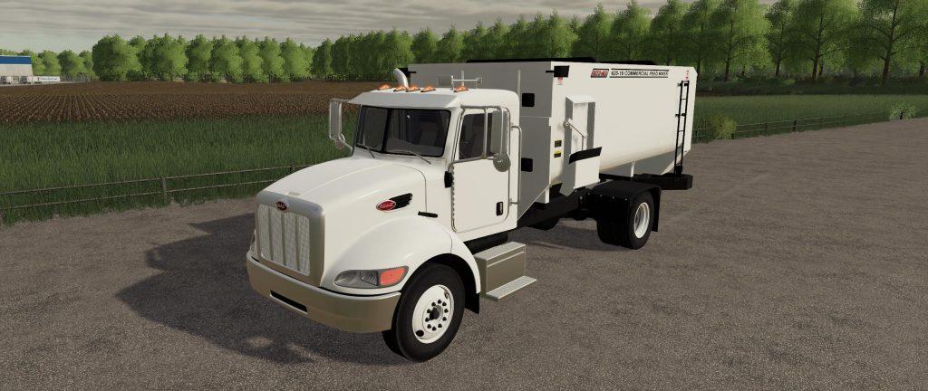Peterbilt Feed Truck V1 0 Fs19 Mods Farming Simulator