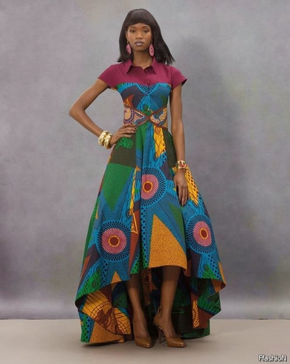 Ankara dress (Photo Credit: Fashionce.com)