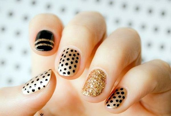 New Year 39 S Eve Nail Design