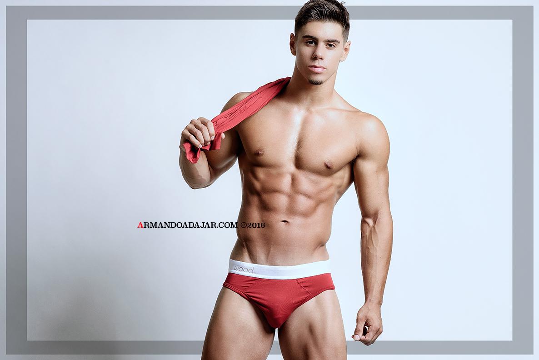 Nick Perillo by Armando Adajar for Wood Underwear