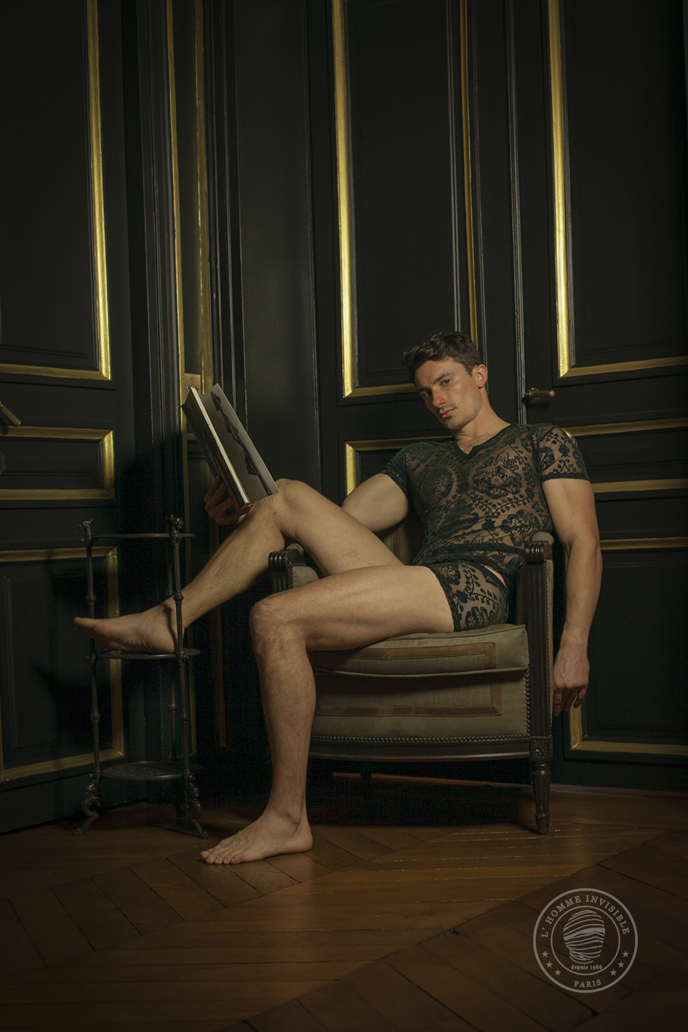 "L'Homme Invisible ""Imperial"" Campaign"