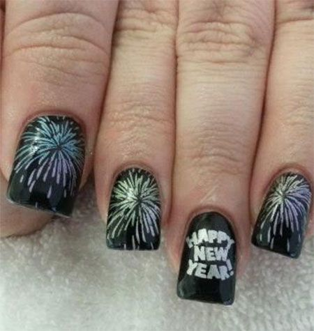 20 Nail Designs For New Years Eve For 2018 Style2 T