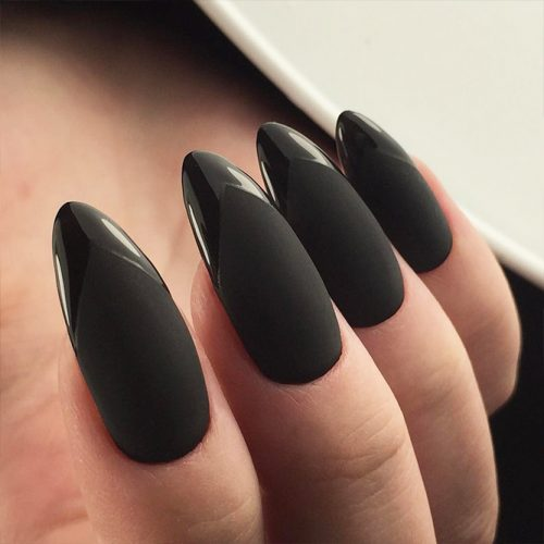 30black Nails Designs For Dark Colors Lovers Style2 T