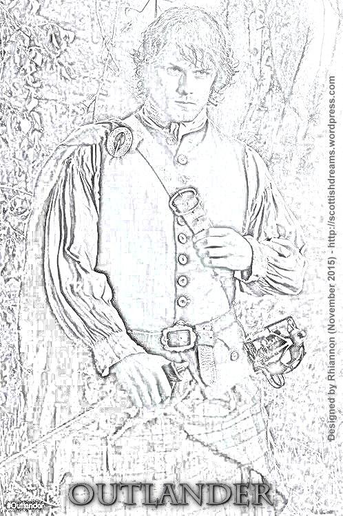 Outlander - Pencil Drawing November 2015 01