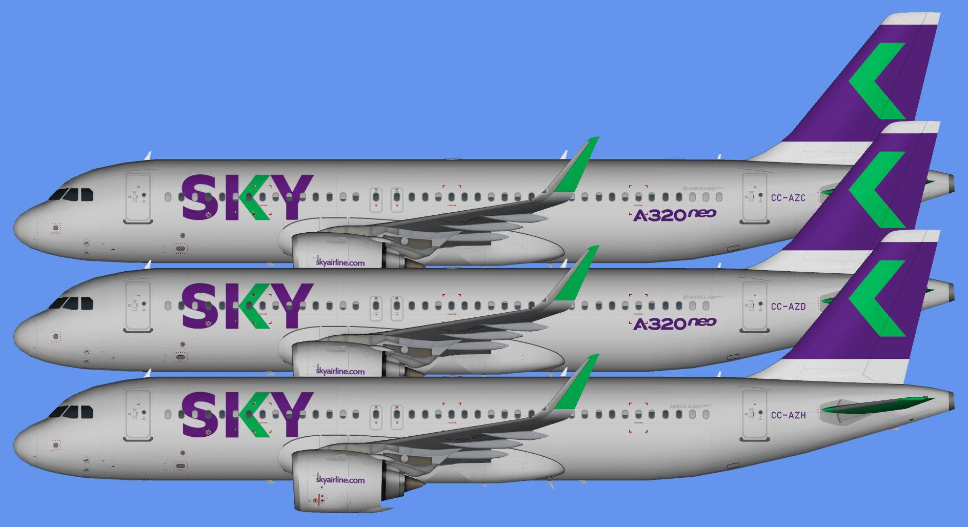 Sky Airlines – FSAI Repaints