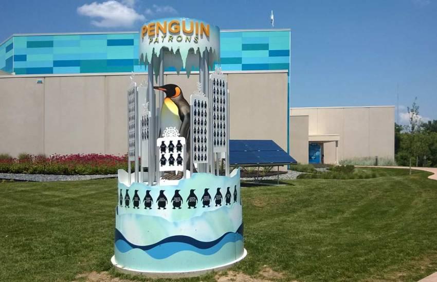 Kansas City Zoo Penguins Exhibit, Kansas City, MO