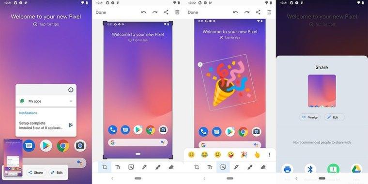 Android 12 screenshot