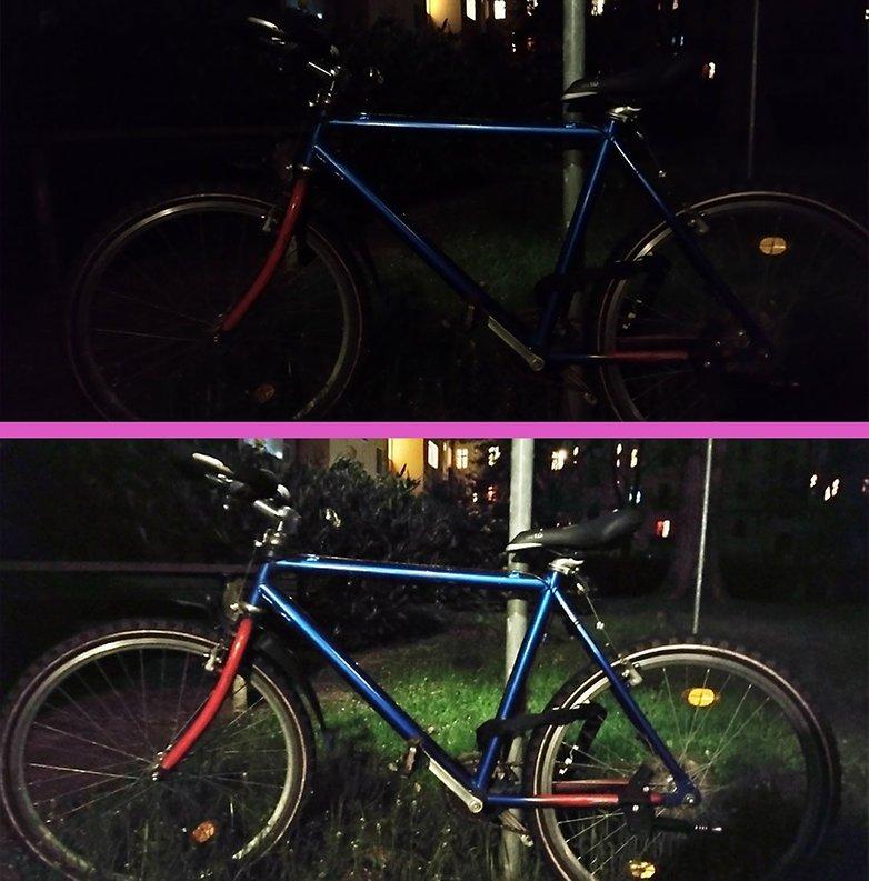 Moto G30 night mode