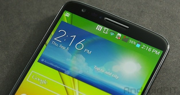 Экран LG G2