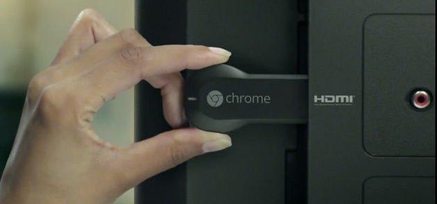 клип скриншота chromecast