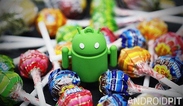 Android леденец тизер 01