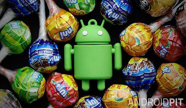 Android леденец тизер 02