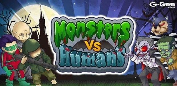 Humans Vs Monsters App