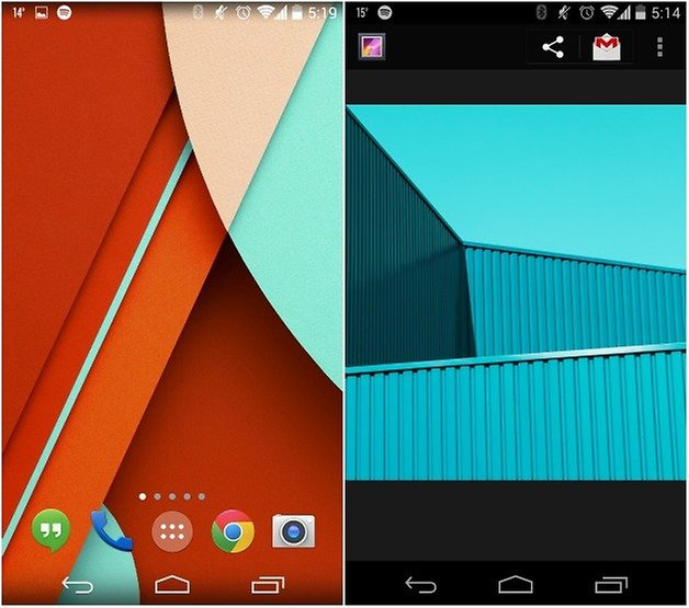 androidpit android lollipop обои