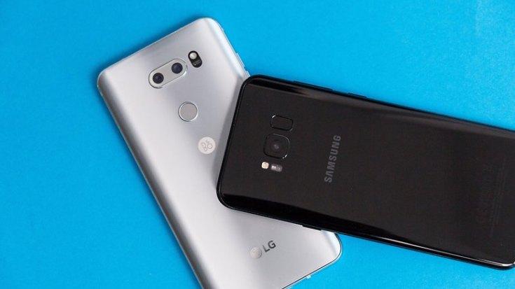 AndroidPIT LG V30 vs Galaxy S8 Plus 3