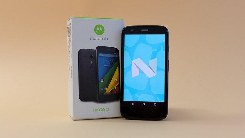 AndroidPIT Moto G Nougat 1590