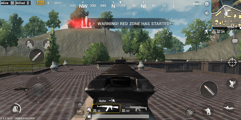 AndroidPIT PUBG на Android 10
