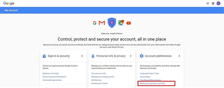 Step 1 Google Accounts