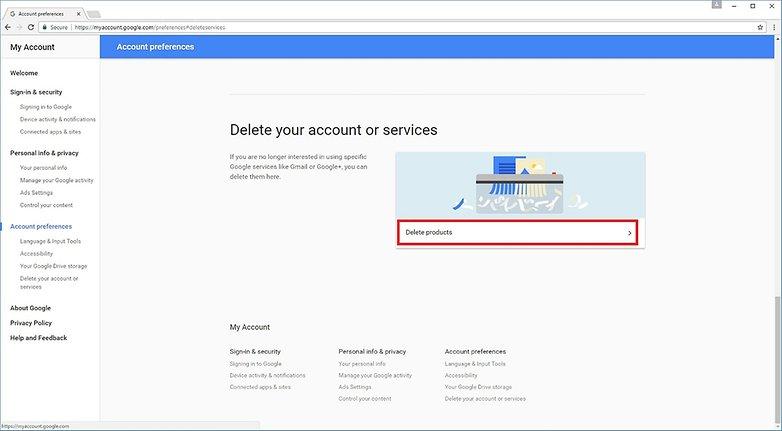 Step 2 Google Accounts