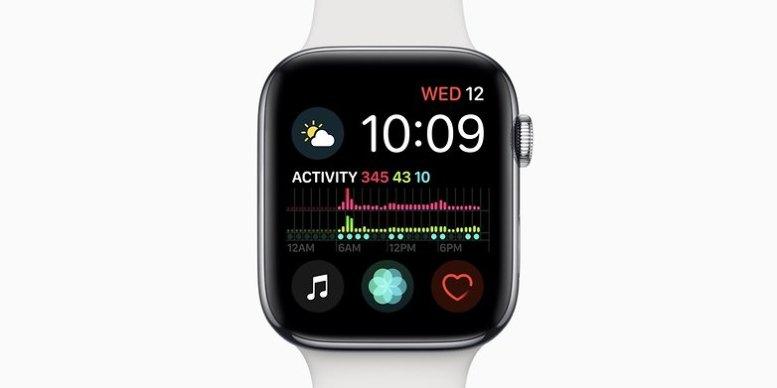 apple watch series 4 crash watchface