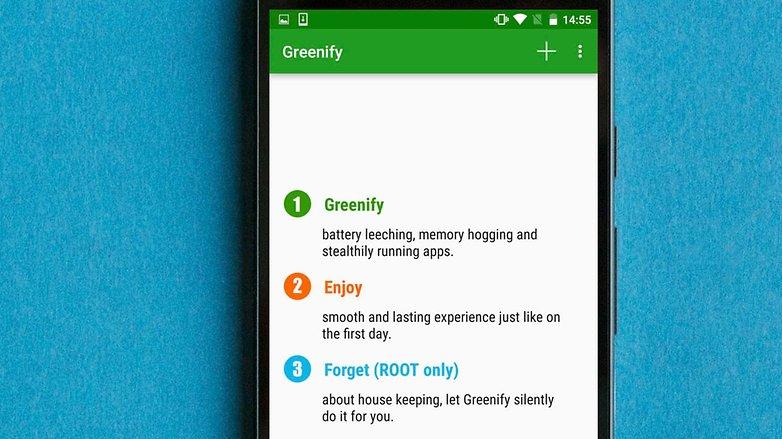 AndroidPIT greenify app как получить root права