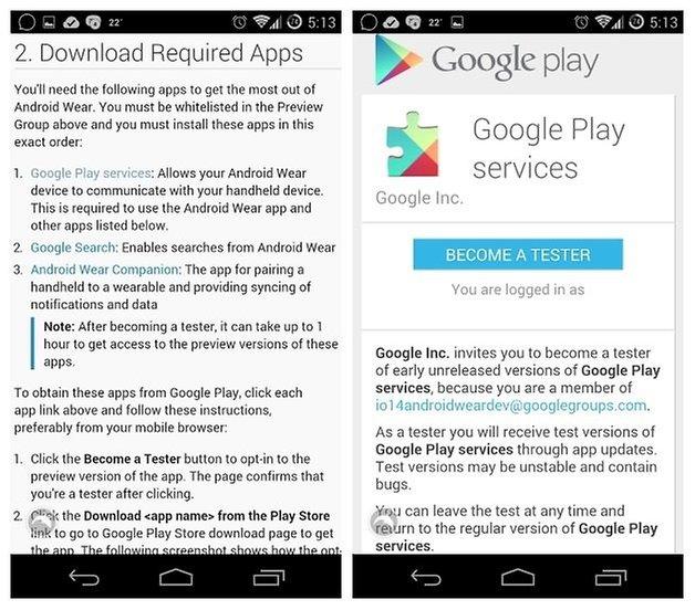 AndroidPIT Настройка Android Wear 2