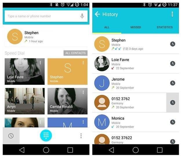 Черный список AndroidPIT Dialer 1