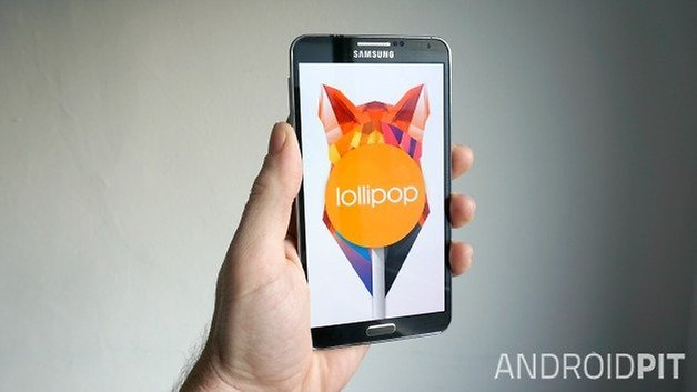 AndroidPIT Galaxy Note 3 леденец