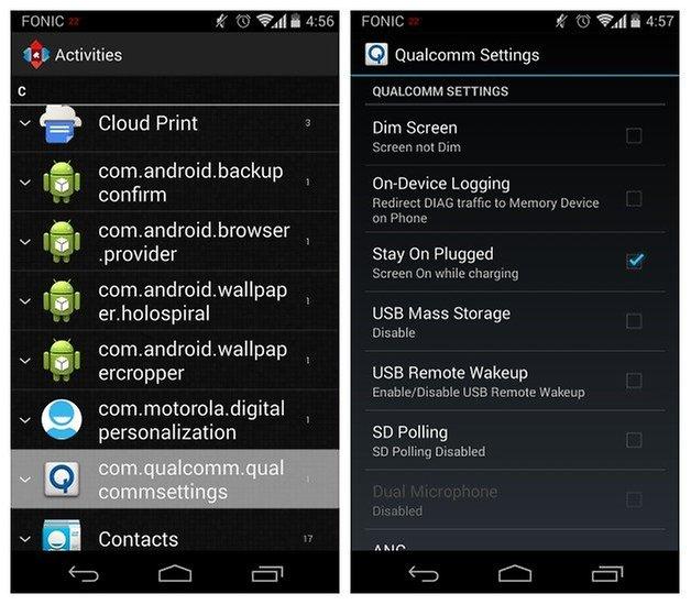 AndroidPIT Moto X Nova Launcher Настройки Qualcomm 2
