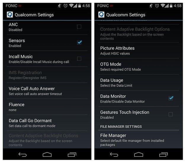 AndroidPIT Moto X Nova Launcher Настройки Qualcomm 3