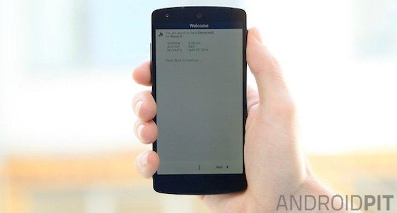 AndroidPIT Nexus 5 ElementalX Установить