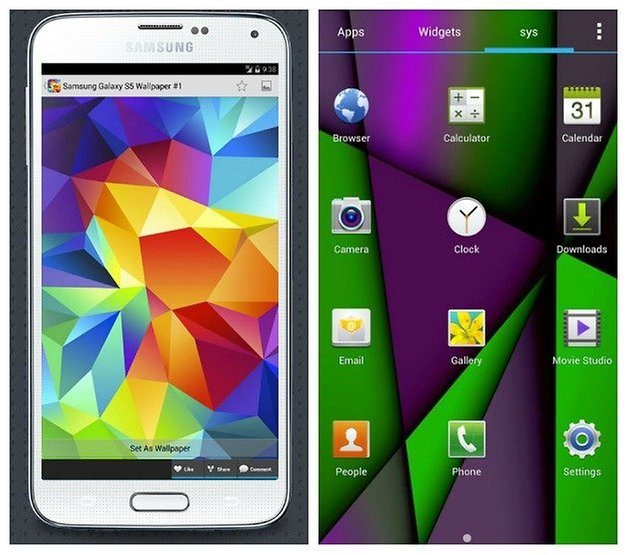 AndroidPIT S4 S5 Темы