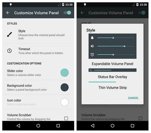 Тихий режим AndroidPIT Sound HUD Lollipop
