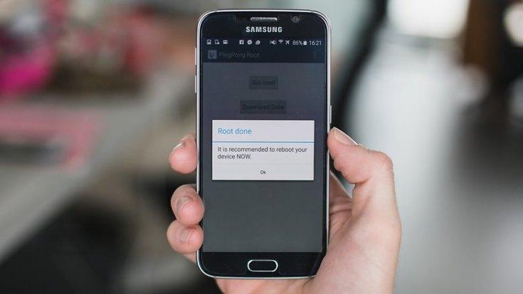 AndroidPIT Galaxy S6 Ping Pong Root