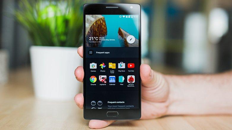AndroidPIT OnePlus 2 полка
