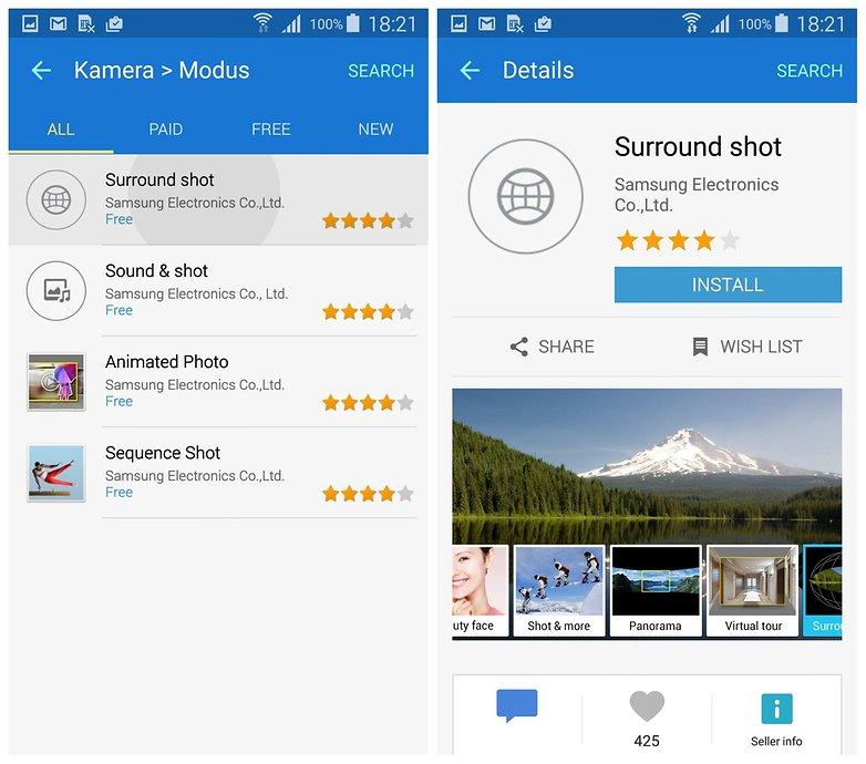 AndroidPIT Samsung Galaxy S5 Camera скачать объемный снимок