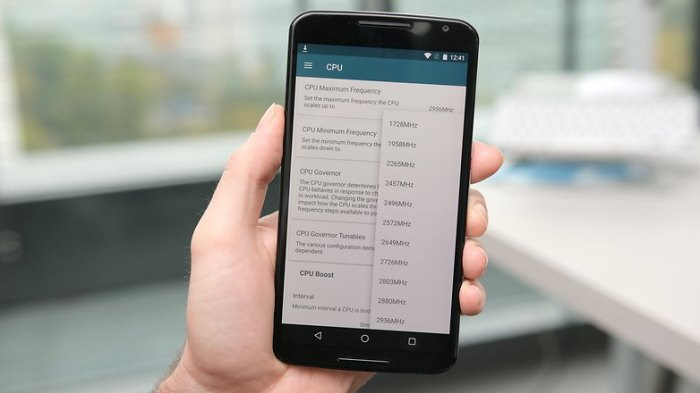 Программа Nexus 6 для адиаторов ядра установлена тактовая частота процессора