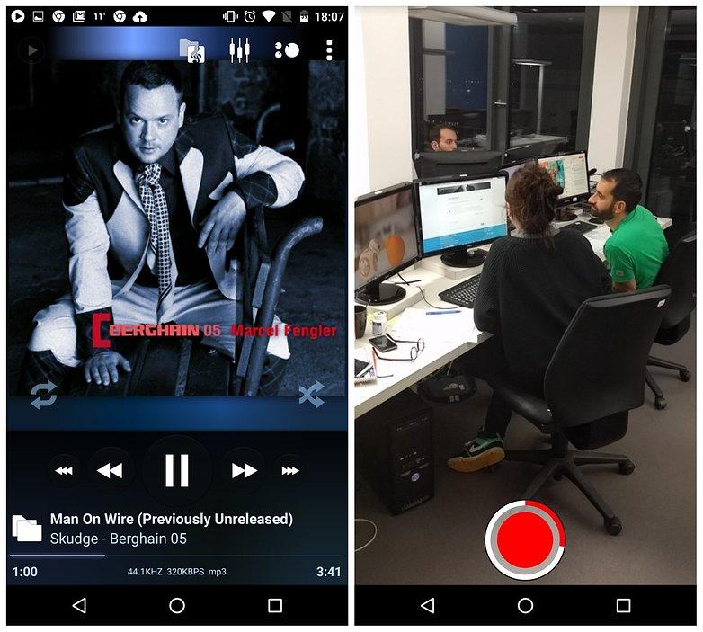 Советы по AndroidPIT Snapchat: добавление музыки в видео