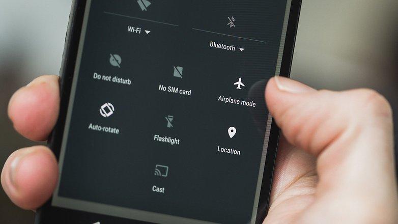 androidpit wi fi не работает быстрые настройки режим полета