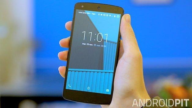 nexus 5 экран блокировки экрана