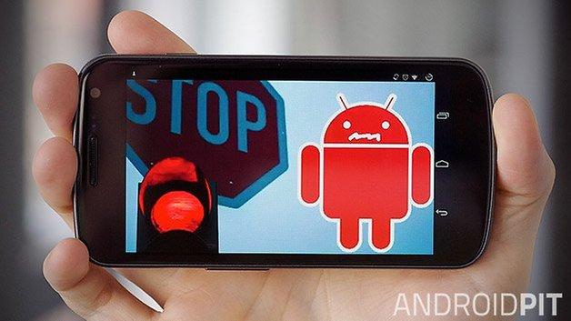 тизер безопасности Android