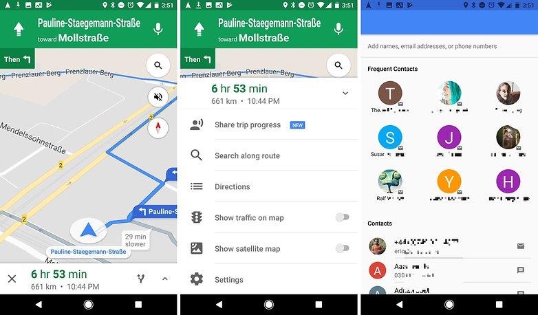 Google карты делятся прогрессом