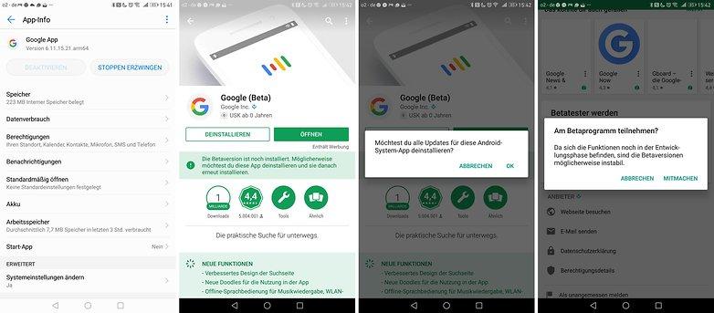 сбой системного интерфейса удалить приложение Google