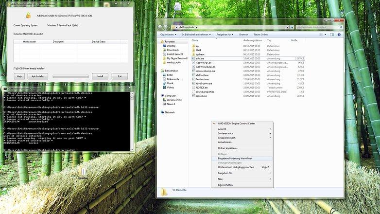 Обзор инструментов Windows ADB